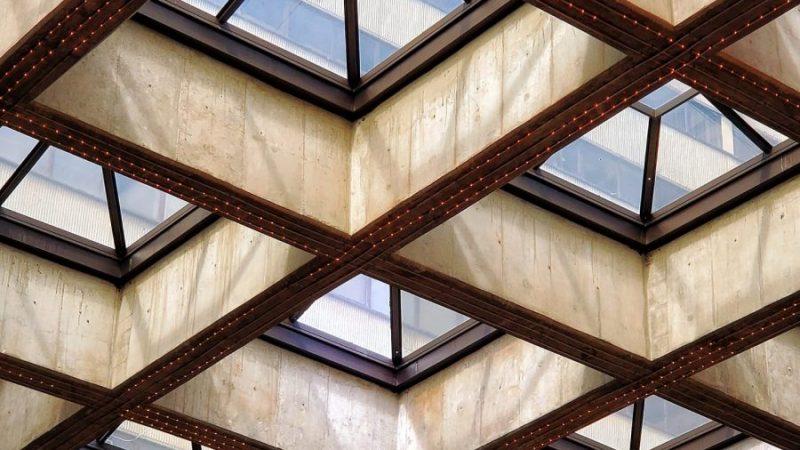 brown skylight