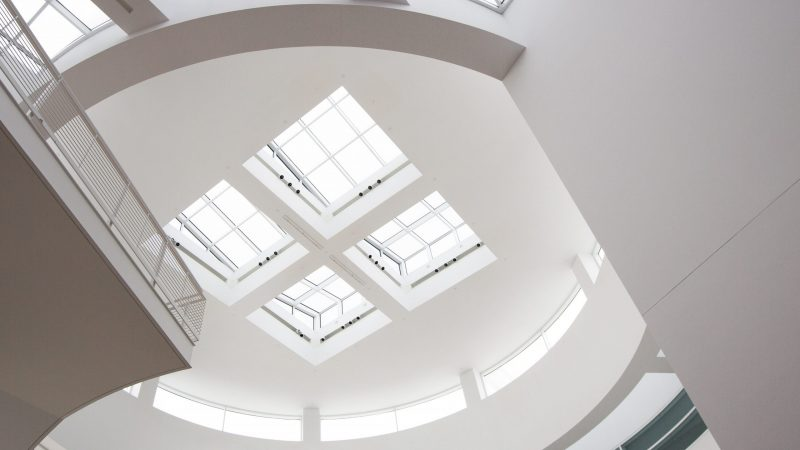 round skylight